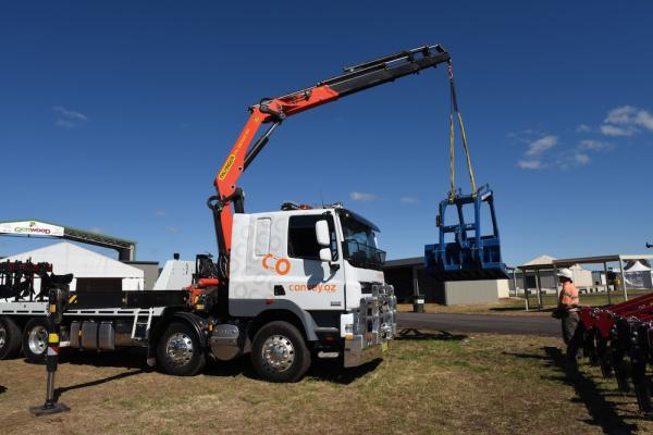 Convey Oz crane truck nsw