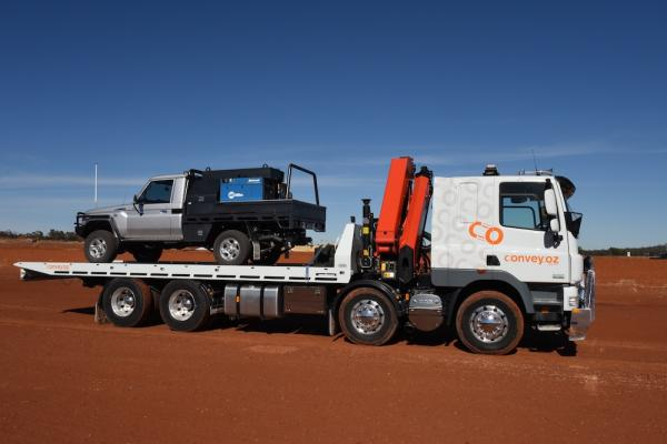 Convey Oz NSW tilt/ slide tray truck