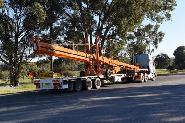 Convey Oz extendable drop deck NSW